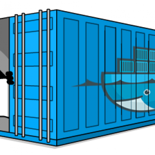 Java in A container